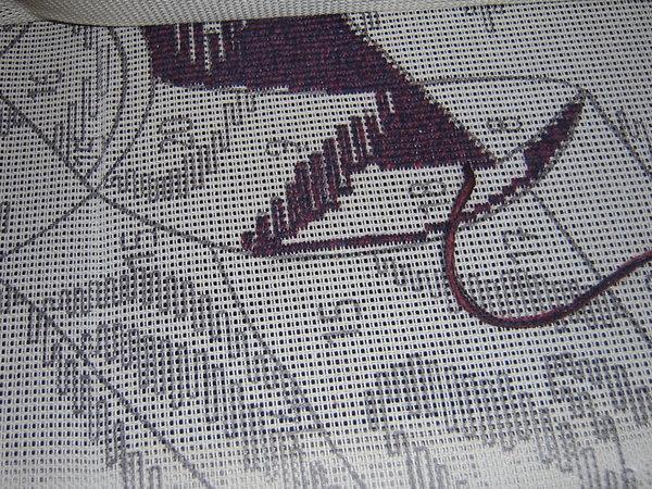 Le support pnlope les traits et les espaces sont l pour for Comment enlever de la tapisserie